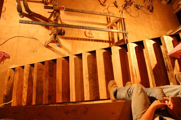 2008-04-19, Working on the Cabin 106 (1504 x 1000).jpg